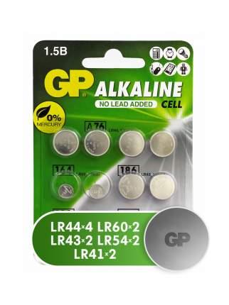 Батарейка GP Clock набор 12 шт: LR44 4 шт,  LR60 2 шт, LR43 2 шт, LR54 2 шт, LR41 2 шт