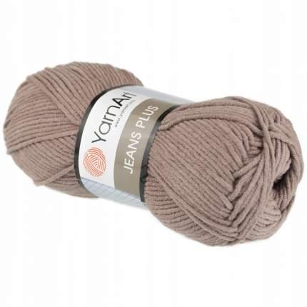 """Пряжа Yarn art """"Jeans Plus"""", цвет: 71 коричневый, 160 м, 100 грамм (5 мотков) ( 5)"""