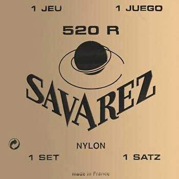 Струны для классической гитары Savarez 520R 28-43
