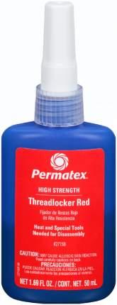 Фиксатор резьбы Permatex 27150 сильной фиксации красный 50 мл