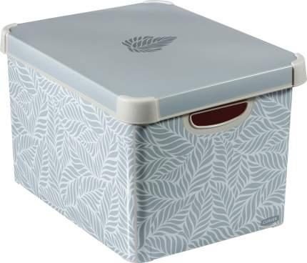 Короб (ящик) для хранения СТОКГОЛЬМ 22л L ЛИСТЬЯ