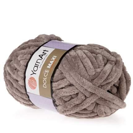 "Пряжа Yarn art ""Dolce Maxi"", цвет: 754 серо-бежевый, 70 м, 200 грамм (2 мотка) ( 2)"