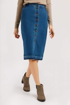 Юбка женская Finn-Flare B20-15016 синяя L