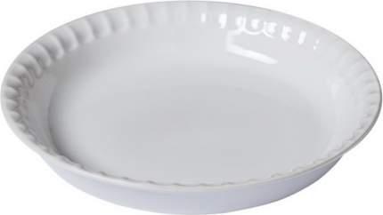 Форма для пирога Supreme White 25см керамика