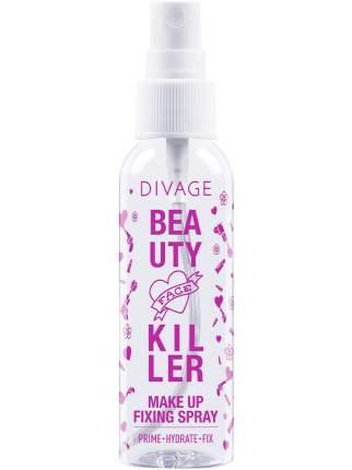 Спрей для фиксации макияжа Divage Bkiller Fixing Spray, 60 мл