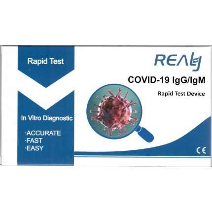Экспресс-тест на антитела и COVID-19 Realy Tech  IgM/IgG