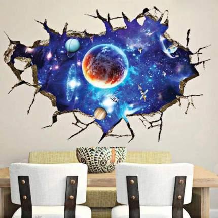 Наклейки на стену Космос Вселенная 60х90 см Animal World