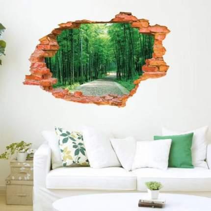 Наклейки на стену Природа В лесу 60х90 см Animal World