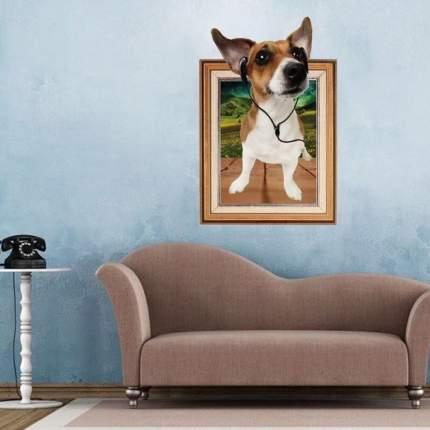 Наклейки на стену Меломан 60х90 см Animal World