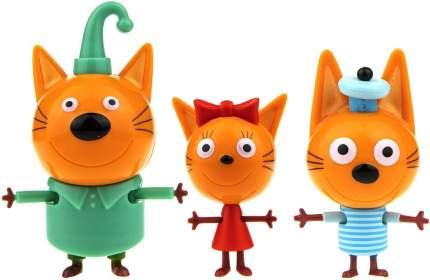 Игровой набор 1TOY Т17171 Три кота Коржик, Карамелька и Компот