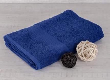 Полотенце махровое 40х70 темно-синий 400 гр.Туркмения Б