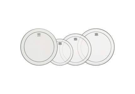 Набор пластиков для барабана Remo Pinstripe PRO Pack PP-0110-PS 4 штуки, Remo (Ремо)