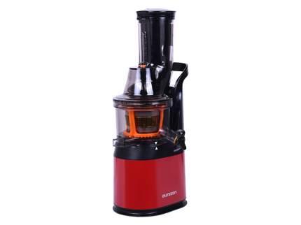 Соковыжималка шнековая Oursson JM6001/RD Red