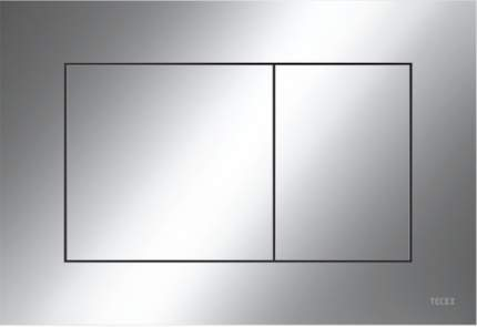 Пластиковая панель смыва TECEnow хром глянцевый