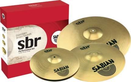 Комплект тарелок для ударной установки Sabian SBr Performance Set