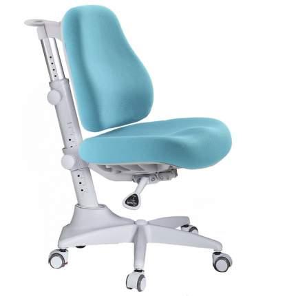 Детское кресло Mealux Match Y-528 цвет обивки: голубой, цвет каркаса: серый