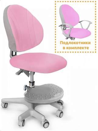 Детское кресло Mealux EVO Mio Y-407 цвет обивки: розовый, цвет каркаса: серый