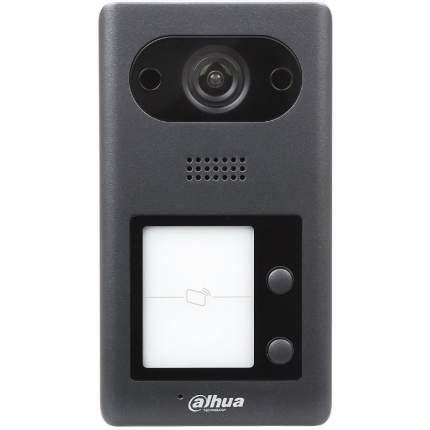 Видеопанель DAHUA DH-VTO3211D-P2, цветная, накладная, черный