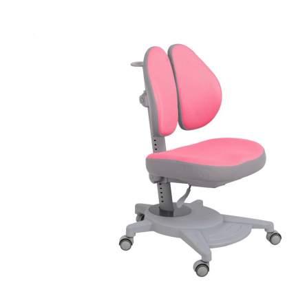 Ортопедическое детское кресло Fundesk Pittore цвет обивки: розовый, цвет каркаса: серый
