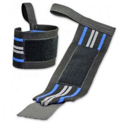 Спортивный бинт Titan Titanium черный/синий 50 см