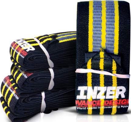 Спортивный бинт Inzer Gripper Wrist Wraps черный/синий 51 см