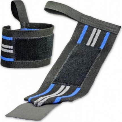 Спортивный бинт Titan Titanium черный/синий 61 см