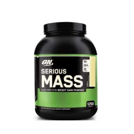 Optimum Nutrition Serious Mass 2,7 кг (вкус: клубника)