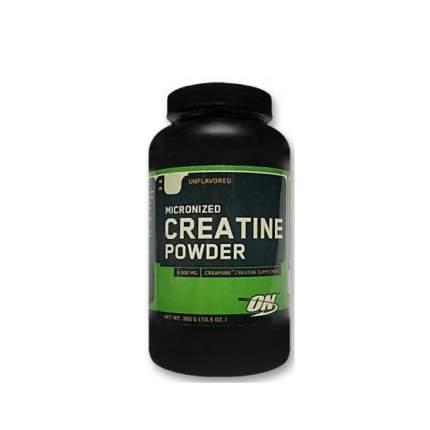 Креатин Optimum Nutrition Micronized Creatine Powder, 300 г, unflavoured