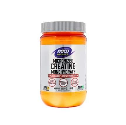 Now Creatine Monohydrate Micronized 500 г