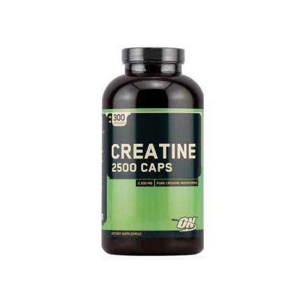 Креатин Optimum Nutrition Creatine Monohydrate 2500 Caps, 300 капсул