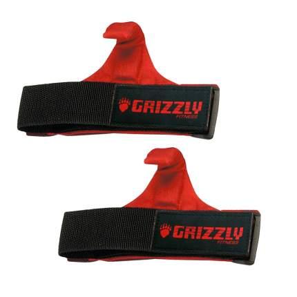 Grizzly Ремни для тяги с крюком