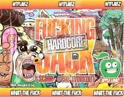 Wtf Labz Fucking Jack Hardcore 6 г (вкус: яблоко)