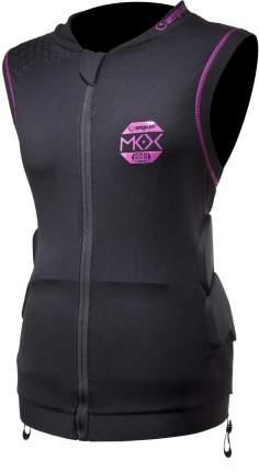 Защита спины горнолыжная Amplifi Mkx Top Women, XS/S, розовая/черная