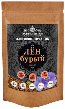 Лен бурый Продукты XXII века семена 100 г