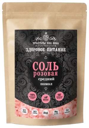 Соль розовая гималайская Продукты XXII века средний помол 2-5 мм 400 г