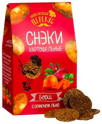 Снеки картофельные Полезный перекус борщ 100 г