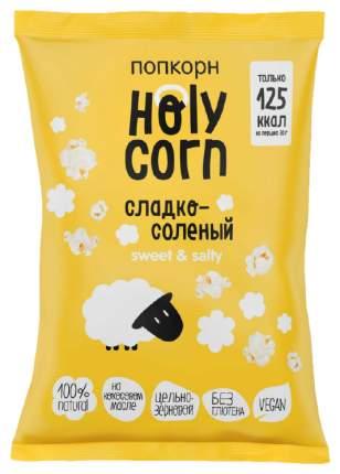 Кукуруза воздушная Holy Corn попкорн cладко-соленая 80 г