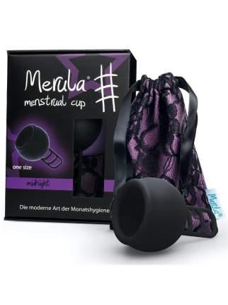 "Менструальная чаша ""Merula"" черная One Size"