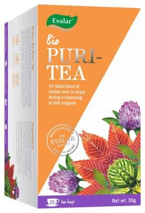 "Чай Эвалар БИО Очищающий (""Evalar Bio Puri-Tea""), 20 фильтр-пакетов, Эвалар"