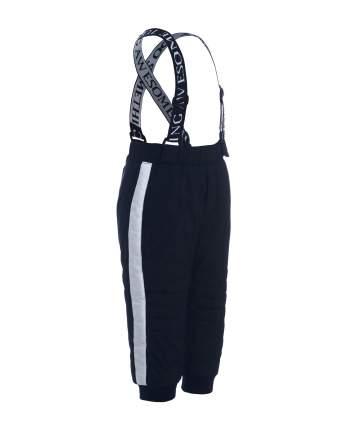 Утепленные брюки для мальчиков Gulliver, цв. черный, р.86