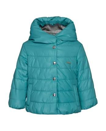 Куртка для девочек Gulliver, цв. бирюзовый, р.74