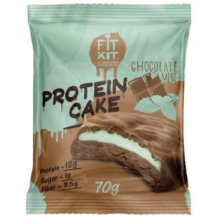 Fit Kit Protein Cake 70 г мини-набор из 3 шт Шоколад-мята