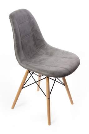 Стул Bradex Home Eames DSW leather серый /FR 0101