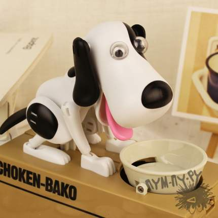 Интерактивная копилка собачка Choken-bako