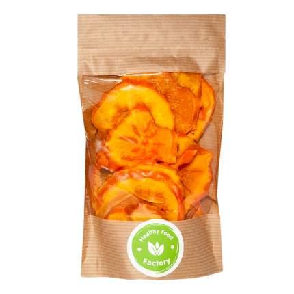 фруктовые чипсы фабрика здорового питания премиум (без сахара): хурма (200 г)