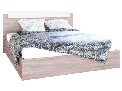 Односпальная кровать Эко Ясень шимо светлый/Ясень шимо темный, 1200х2000 мм
