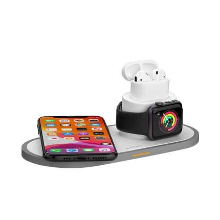 Беспроводное зарядное устройство Deppa 3 в 1 Для IPhone, Apple Watch, Airpods 24006