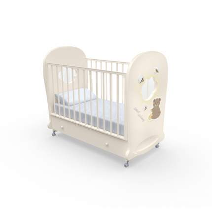 Детская кровать Nuovita Stanzione Honey Bear swing Vaniglia/Ваниль