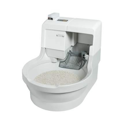 Автоматический туалет для кошек CatGenie 120 , круглый, белый, серый, 60х50х55 см