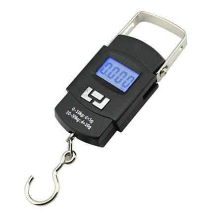 Весы ручные электронные (безмен) до 50 кг WH-A08 черные